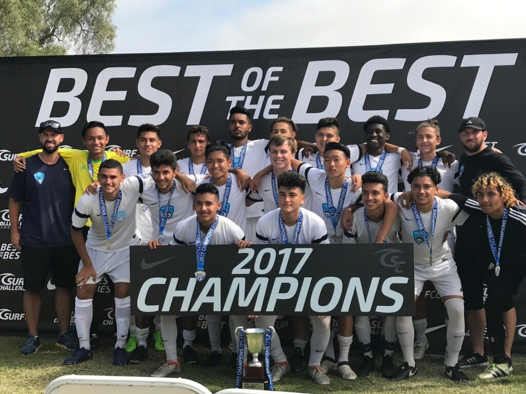 Boys 2000 Surf Cup Champions