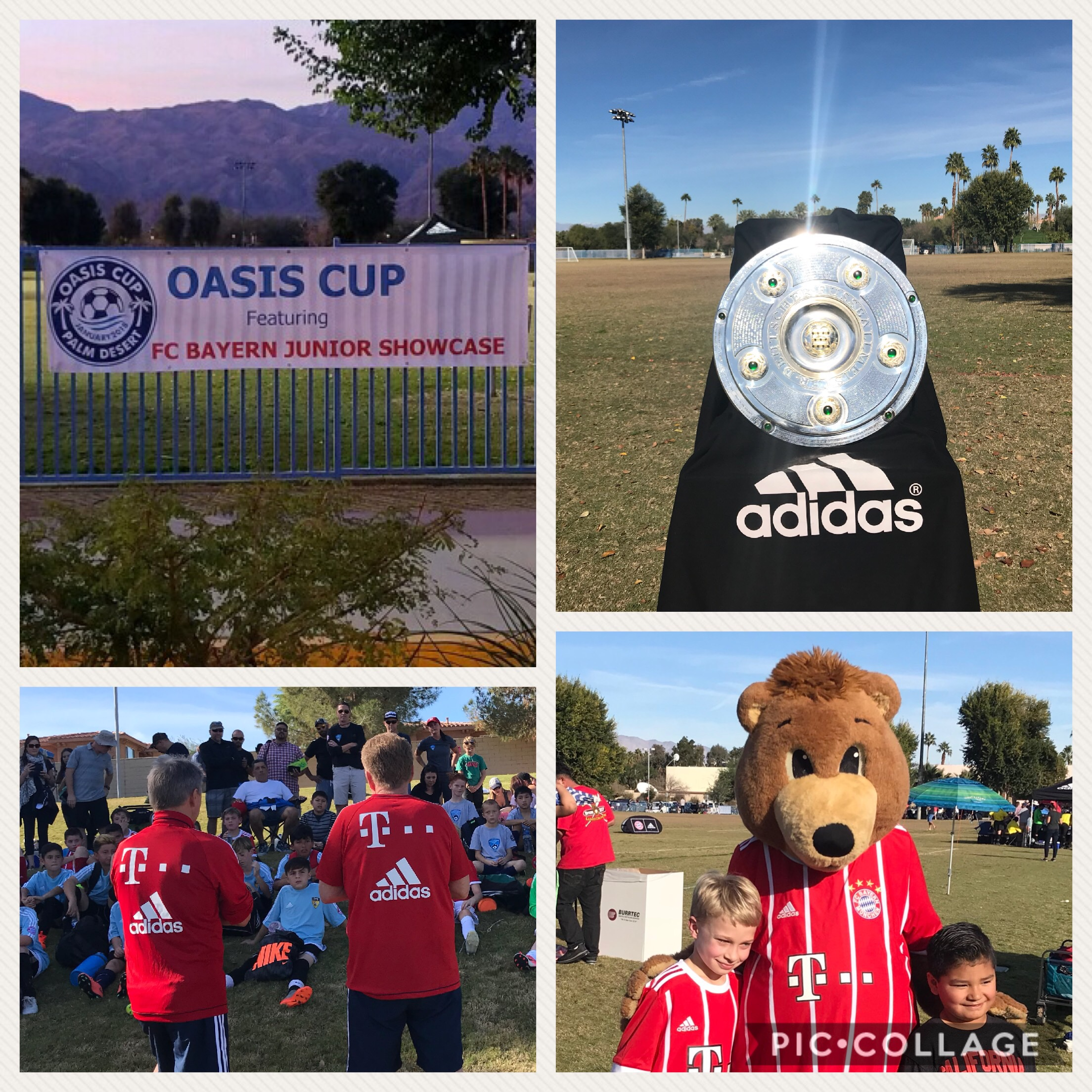 Oasis Cup featuring FC Bayern Junior Showcase