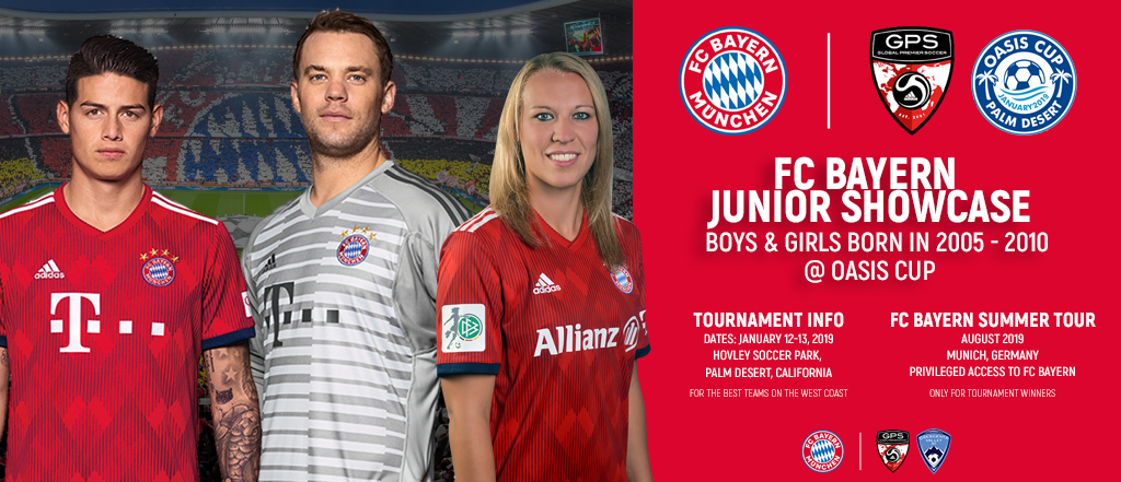 Oasis Cup feat. FC Bayern Junior Showcase 2019
